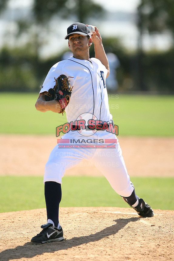 March 21st 2008:  Eric Averill of the Detroit Tigers minor league system during Spring Training at Tiger Town in Lakeland, FL.  Photo by:  Mike Janes/Four Seam Images