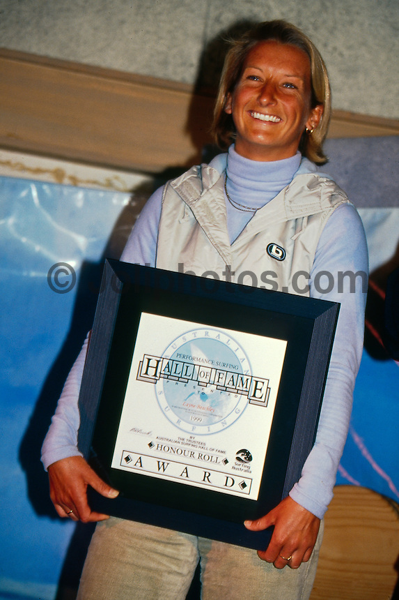 Layne Beachley (AUS) Australian Hall of Fame Victoria Australia 2000. Photo:  joliphotos.com