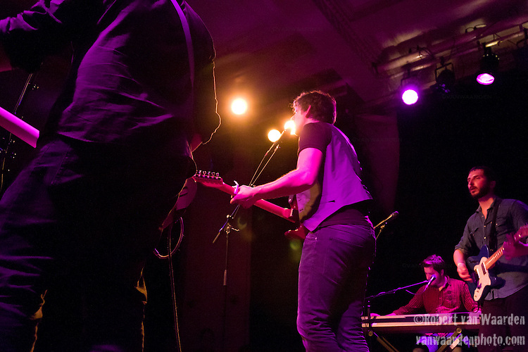 The Eastern Canadian Indie Rock Band, Inflight Safety, preforms at the Amsterdam club Paradiso.