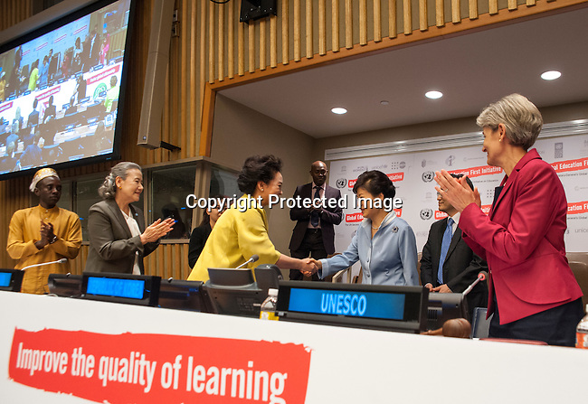 "High-level event on ""#EducationFirst for Sustainable Development"" (organized by the secretariat of the United Nations Secretary-General's Global Education First Initiative (UNSG-GEFI))"