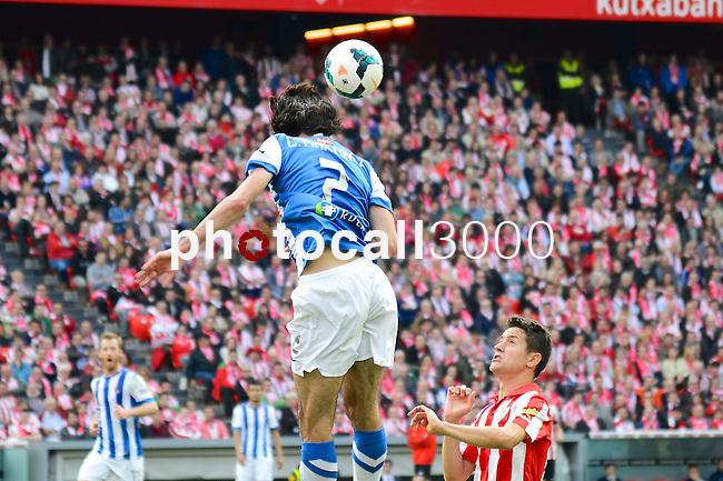 Football macht during La Liga BBVA.<br /> Athletic Club - Real Sociedad<br /> c.martinez