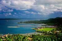 Vaitape. Bora Bora. French Polynesia.