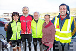 The sun came out for the start of the Tour of South Kerry Cycle on Sunday in Cahersiveen, pictured here at the registration were l-r; Pauline Sugrue, Pádraig O'Shea, Pieter Bot, Wendy Donnelly & Brendan O'Sullivan.