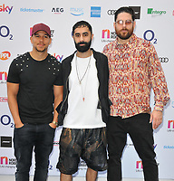 Rudimental at the Nordoff Robbins O2 Silver Clef Awards 2018, Grosvenor House Hotel, Park lane, London, England, UK, on Friday 06 July 2018.<br /> CAP/CAN<br /> &copy;CAN/Capital Pictures