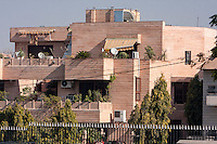 Jaipur, Rajasthan, India.  An Upper Middle-class House.