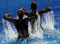 Roma 20th July 2009 - 13th Fina World Championships From 17th to 2nd August 2009..Rome (Italy) 20 07 2009..Synchronized swimming - Technical duet preliminaries..Team Cuba......photo: Roma2009.com/InsideFoto/SeaSee.com