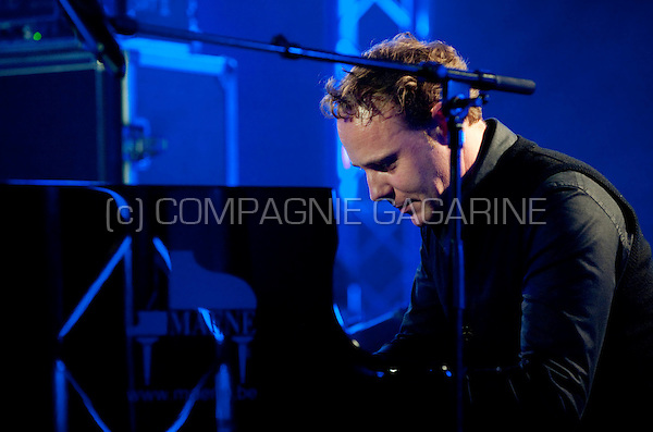 Belgian jazz pianist Jef Neve at the Radio 1 Sessies (Belgium, 15/10/2010)