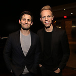 Benj Pasek and Justin Paul attend The Dramatists Guild Foundation Salon with Matt Gould on March 12, 2018 at StellarTower in New York City.
