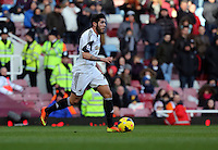 Pictured: Alejandro Pozuelo of Swansea. 01 February 2014<br />