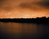 PERU, South America, Latin America, Amazon river at night