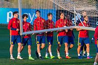 training of Spanish football team under 21
