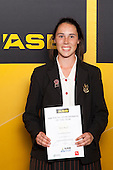 Equestrian winner Rosa Rieger from Baradene College. ASB College Sport Young Sportsperson of the Year Awards held at Eden Park, Auckland, on November 24th 2011.
