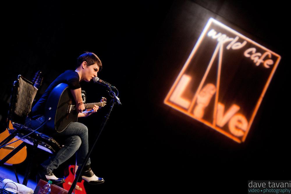Kaki King performs at World Cafe Live.