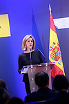 Minister of Defense of Spain Maria Dolores de Cospedal in press conference. January 25,2018. (ALTERPHOTOS/Acero)