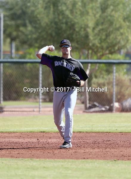 Sean Bouchard - 2017 AIL Rockies (Bill Mitchell)