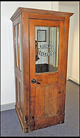 BNPS.co.uk (01202 558833)<br /> Pic: AmberleyPublishing/BNPS<br /> <br /> A call office or, as it was sometimes known, a &lsquo;silence cabinet&rsquo;. This example is preserved within the BT Archives, Holborn, London.<br /> <br /> The iconic British phonebox has been given a ringing endorsement in a new book charting the expiring institution's fascinating history. <br /> <br /> Aptly titled 'The British Phonebox', the book primarily focuses on the ubiquitous design that's as emblematic to Britain as the black cab, double decker bus and Houses of Parliament. <br /> <br /> Equally interesting are the early chapters, which detail the phonebox's humble 19th century beginnings and the final ones, that bemoan their dwindling numbers <br /> <br /> The 96 page paperback, jointly authored by friends Nigel Linge and Andy Sutton, is published by Amberley and costs &pound;13.49.