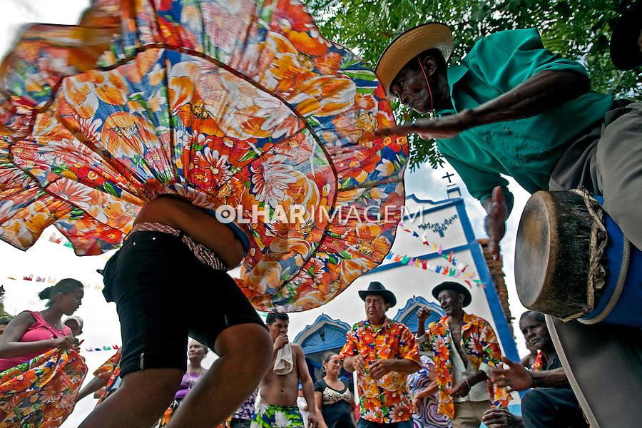 Dança Tambor de Crioula no quilombo Itamatatiua em Alcantara. Maranhao. 2009. Foto de Ricardo Funari.