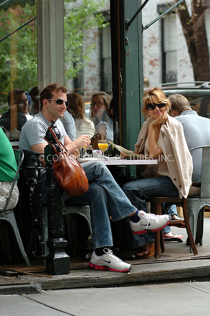 WWW.ACEPIXS.COM . . . . .  ....May 7 2006, New York City....**EXCLUSIVE-FEE MUST BE AGREED BEFORE USE**....Actors Bradley Cooper (who is currently playing in 'Three days of rain' with Julia Roberts) and Jennifer Esposito were having lunch together in the West Village.....Please byline: ALICE STONE-ACEPIXS.COM.... *** ***..Ace Pictures, Inc:  ..(212) 243-8787 or (646) 769 0430..e-mail: picturedesk@acepixs.com..web: http://www.acepixs.com