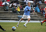 Carolina's Scott Campbell on. Sunday, November 27th, 2005 at Fetzer Field in Chapel Hill, North Carolina. The University of North Carolina Tarheels defeated the University of Virginia Cavaliers 2-1 in a NCAA Men's Soccer Tournament Round of 16 game.