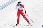 Momoko Dekijima (JPN), <br /> MARCH 12, 2018 - Cross-Country Skiing : <br /> Women's free 15 km Standing  <br /> at Alpensia Biathlon Centre   <br /> during the PyeongChang 2018 Paralympics Winter Games in Pyeongchang, South Korea. <br /> (Photo by Yusuke Nakanishi/AFLO)