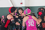 The Oakland Outlaws defeated the Berkeley Resistance 201-154 during the Bay Area Derby league bout on Saturday, June 25, 2016 in Richmond, California.