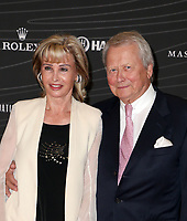 LOS ANGELES, CA - OCTOBER 5 : Dr. Wolfgang Porsche, Susanne Porsche, at the Petersen Automotive Museum Gala at The Petersen Automotive Museum in Los Angeles California on October 5, 2018. <br /> CAP/MPIFS<br /> &copy;MPIFS/Capital Pictures
