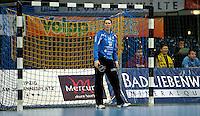 Handball Frauen / Damen  / women 1. Bundesliga - DHB - HC Leipzig : Frankfurter HC - im Bild: Torfrau Julia Plöger. Porträt . Foto: Norman Rembarz .