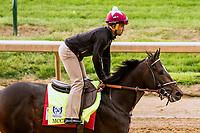 LOUISVILLE,KNY - MAY 03: McKracken, Morning works for Kentucky Derby & Kentucky Oaks at Churchill Downs, Louisville, Kentucky. (Photo by Sue Kawczynski/Eclipse Sportswire/Getty Images)