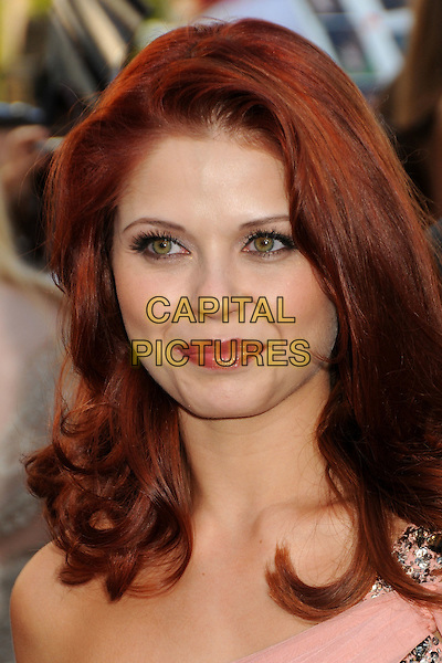 "ANNA TREBUNSKAYA .""The Twilight Saga: Eclipse"" Los Angeles Premiere at the 2010 Los Angeles Film Festival held at Nokia Theatre LA Live, Los Angeles, California, USA, 24th June 2010..portrait headshot make-up pink coral peach .CAP/ADM/BP.©Byron Purvis/AdMedia/Capital Pictures."