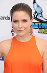 SANTA MONICA, CA - AUGUST 19: Sophia Bush arrives at the 2012 Do Something Awards at Barker Hangar on August 19, 2012 in Santa Monica, California.