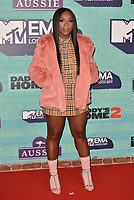 Ray Blk<br /> MTV EMA Awards 2017 in Wembley, London, England on November 12, 2017<br /> CAP/PL<br /> &copy;Phil Loftus/Capital Pictures
