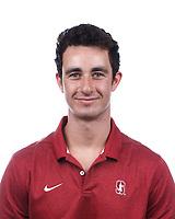 Stanford, CA - September 20, 2019: Ryan Cardiff, Athlete and Staff Headshots