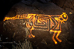 Cougar Petroglyph #1, Three Rivers Petroglyph Site, New Mexico