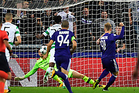 ANDERLECHT, BELGIUM - SEPTEMBER 27 : Lukasz Teodorczyk forward of RSC Anderlecht missing an opportunity during the Champions League Group B  match between RSC Anderlecht and Celtic FC on September 27, 2017 in Anderlecht, Belgium, 27/09/2017 <br /> Foto Photonews/Panoramic