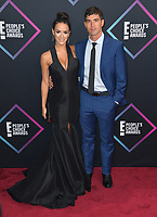 LOS ANGELES, CA. November 11, 2018: Cody Nickson &amp; Jessica Graf at the E! People's Choice Awards 2018 at Barker Hangar, Santa Monica Airport.<br /> Picture: Paul Smith/Featureflash