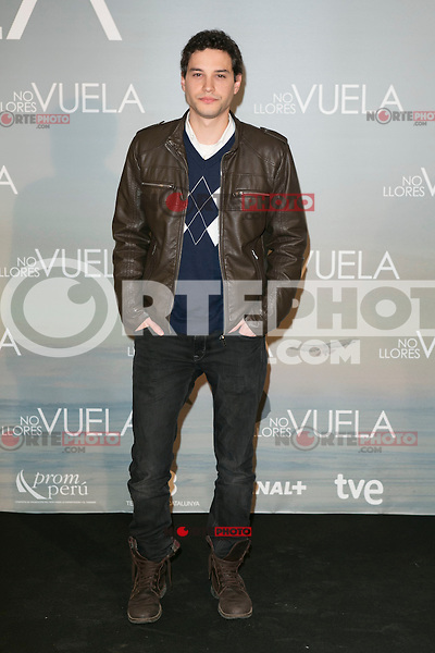 "Alex Martinez attends Claudia´s Llosa ""No Llores Vuela"" movie premiere at Callao Cinema, Madrid,  Spain. January 21, 2015.(ALTERPHOTOS/)Carlos Dafonte) /NortePhoto<br />