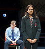 Future Conditional <br /> by Tamsin Oglesby<br /> directed by Matthew Warchus<br /> at The Old Vic Theatre, London, Great Britain, London, Great Britain<br /> 4th September 2015 <br /> <br /> Nikki Patel as Alia<br /> Rob Brydon as Crane<br /> <br /> and company:<br /> <br /> Matthew Aubrey, Louisa Beadel, Lucy Briggs-Owen, Alex Clatworthy, Peta Cornish, Natasha Cottriall, Amy Dawson, Jennifer English, Sam Jenkins-Shaw, Natalie Klamar, Carla Langley, Ben Lloyd-Hughes, Louis Martin, Joshua McGuire, Sukh Ojla, Bill Parfitt, Nikki Patel, Howard Perret, Sandra Reid, Sofia Stuart, Eleanor Sutton, Brian Vernel and Carmen Vandenberg. <br /> <br /> <br /> Photograph by Elliott Franks <br /> Image licensed to Elliott Franks Photography Services