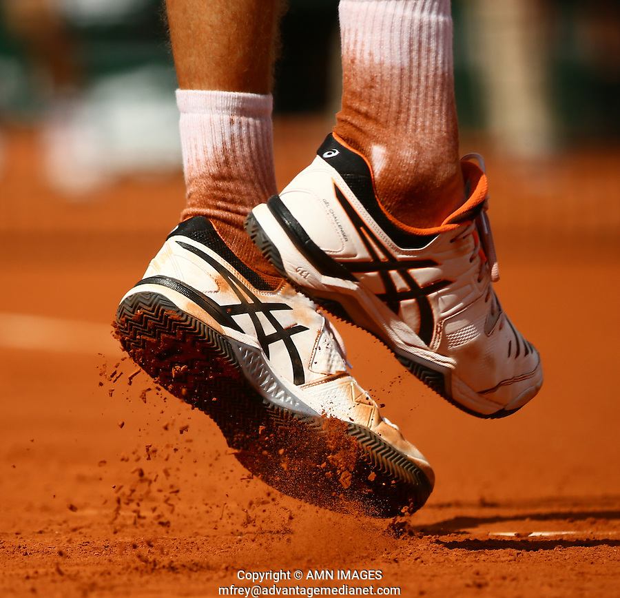 PAUL-HENRI MATTIEU (FRA)<br /> <br /> Tennis - French Open 2015 -  Roland Garros - Paris -  ATP-WTA - ITF - 2015  - France <br /> <br /> &copy; AMN IMAGES