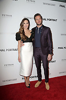 "LOS ANGELES - FEB 19:  Elizabeth Chambers, Armie Hammer at the ""Final Portrait"" Los Angeles Screening at the Pacific Design Center on February 19, 2018 in West Hollywood, CA"