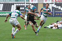 Sunday 19 October 2014<br /> Pictured: Ospreys Justin Tipuric in action.<br /> Re: Ospreys v Treviso, Heineken Champions Cup at the Liberty Stadium, Swansea