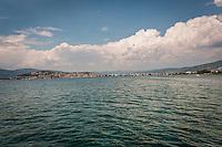 Makedonien. Sejltur på Orhidsøen. Foto: Jens Panduro