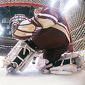 John Muse (BC - 1) - The Boston College Eagles defeated the University of Vermont Catamounts 4-0 in the Hockey East championship game on Saturday, March 22, 2008, at TD BankNorth Garden in Boston, Massachusetts.