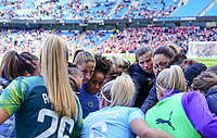 20190907 – MANCHESTER, ENGLAND: Manchester City players are pictured before the match between Manchester City Women and Manchester United Women, first game for both of the teams in the the Barclays FA Women's Super League , Saturday  7th September 2019 at the Ethiad Stadium, Manchester. PHOTO SPORTPIX.BE | Sevil Oktem