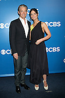 Kyle MacLachlan and Janet Montgomery at the 2012 CBS Upfront at The Tent at Lincoln Center on May 16, 2012 in New York City. © RW/MediaPunch Inc.