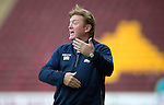 Motherwell v St Johnstone...30.08.14  SPFL<br /> Stuart McCall<br /> Picture by Graeme Hart.<br /> Copyright Perthshire Picture Agency<br /> Tel: 01738 623350  Mobile: 07990 594431