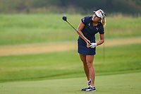 Lexi Thompson (USA) watches her second shot on 3 during round 4 of the KPMG Women's PGA Championship, Hazeltine National, Chaska, Minnesota, USA. 6/23/2019.<br /> Picture: Golffile | Ken Murray<br /> <br /> <br /> All photo usage must carry mandatory copyright credit (© Golffile | Ken Murray)
