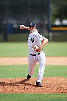 New York Yankees Garrett Whitlock (37) delivers a pitch during an Instructional League game against the Baltimore Orioles on September 23, 2017 at the Yankees Minor League Complex in Tampa, Florida.  (Mike Janes/Four Seam Images)