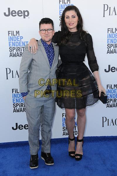 25 February 2017 - Santa Monica, California - Silas Howard. 2017 Film Independent Spirit Awards held held at the Santa Monica Pier.  <br /> CAP/ADM/BT<br /> &copy;BT/ADM/Capital Pictures