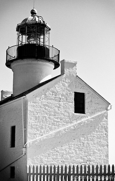 Light house at Point Loma, California
