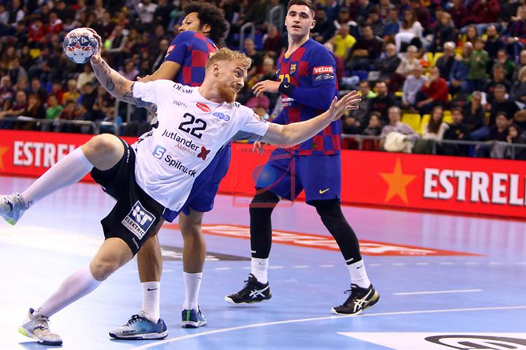 VELUX EHF 2019/20 EHF Men's Champions League Group Phase - Round 8.<br /> FC Barcelona vs Aalborg Handbold: 44-35.<br /> Rene Antonsen.
